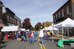 Constitution Ave., York, SC, during the Fall Festival, October 30, 2010