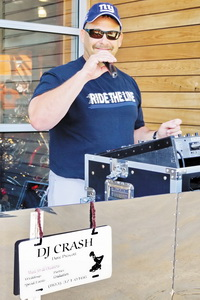 Dave - DJ Crash of South Carolina is our officer moonlighting as a DJ neighbour who gave us the info on the ride.