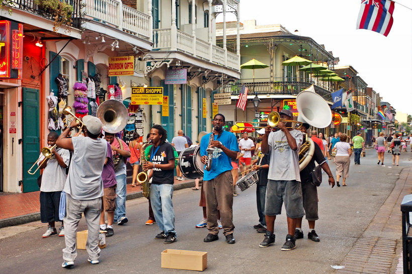 New Orleans Jazz in August.