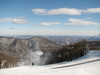 View from the top of the Highland Express Lift, Wintergreen Ski Resort, VA.